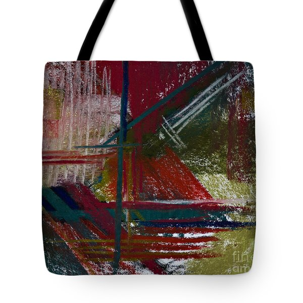 Rough Diamond Tote Bag by Tracy L Teeter