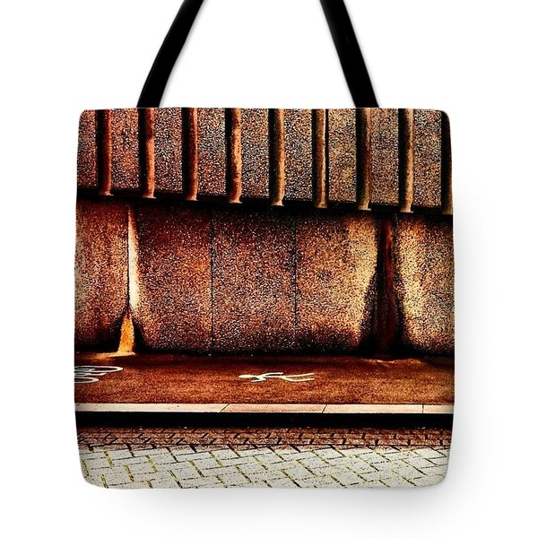 Urban Wall B Tote Bag