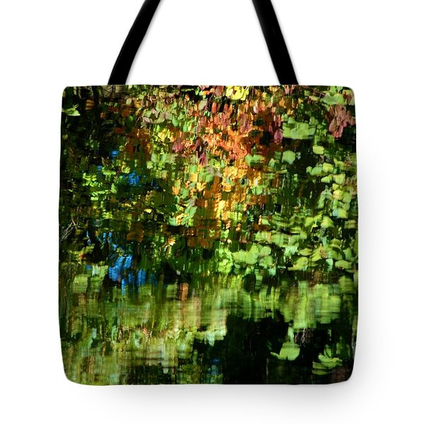 Tote Bag featuring the photograph Autumn Light by Christiane Hellner-OBrien