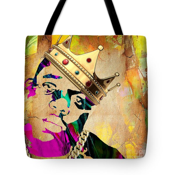 Biggie Collection Tote Bag by Marvin Blaine