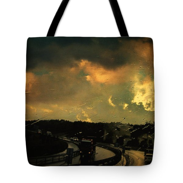 12 Days Of Rain Tote Bag by Taylan Apukovska