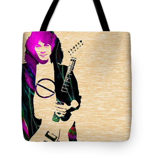 Eddie Van Halen Collection Tote Bag by Marvin Blaine