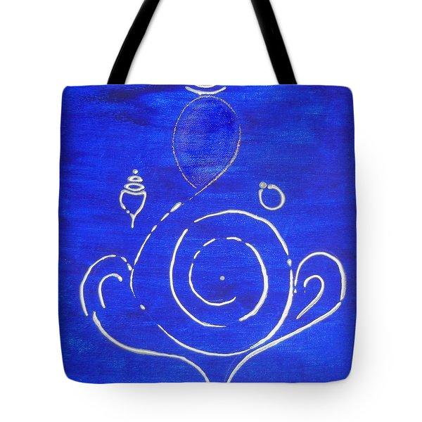 16 Ganesh Tote Bag by Kruti Shah