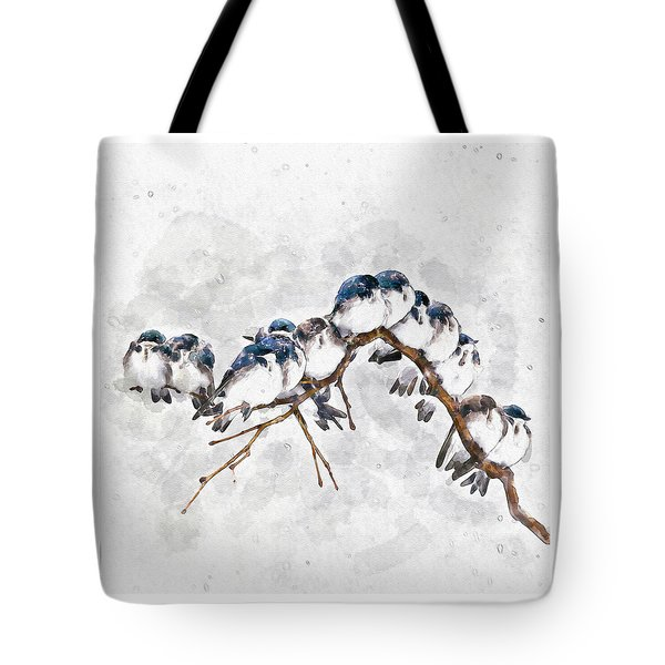 12 On A Twig Tote Bag