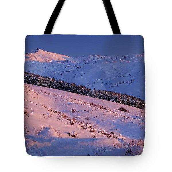 Sierra Nevada Tote Bag by Guido Montanes Castillo