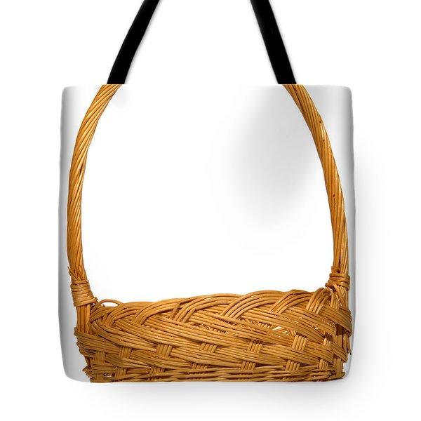 Wicker Basket Number One Tote Bag