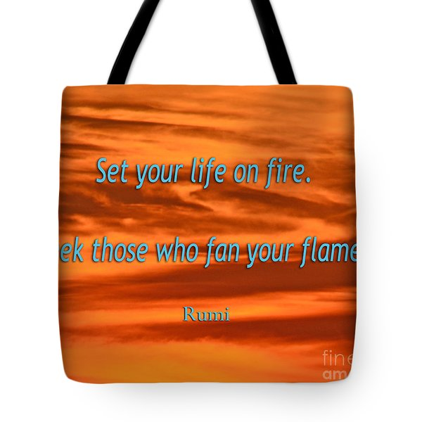 120- Rumi Tote Bag by Joseph Keane