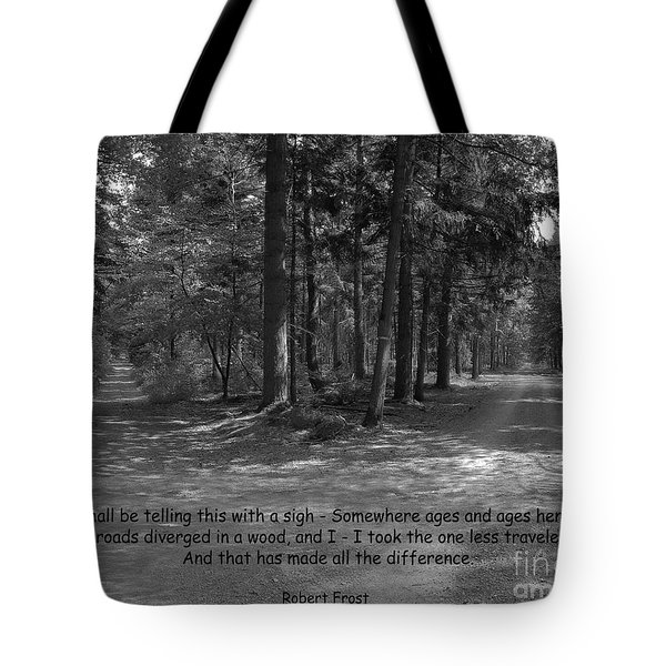 12a- Robert Frost  Tote Bag by Joseph Keane