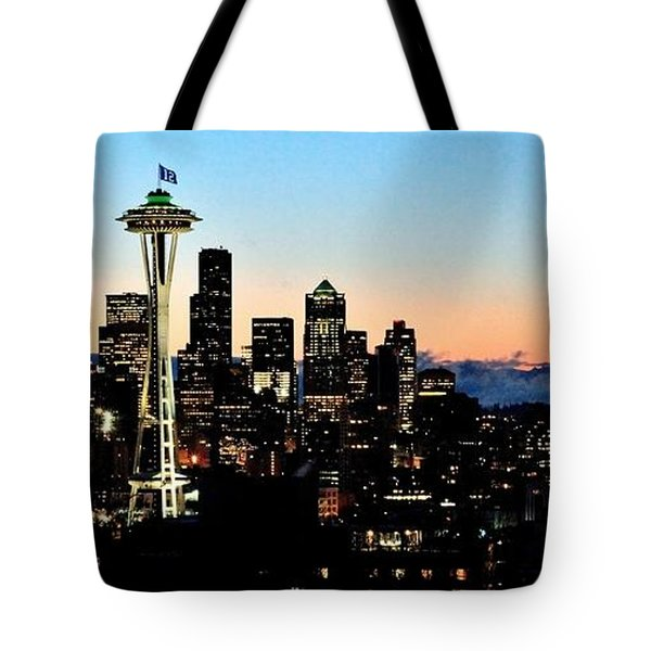 12th Man Sunrise Tote Bag by Benjamin Yeager