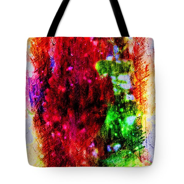 Red Clovers Tote Bag
