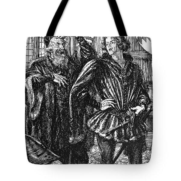 Shakespeare Henry Iv Tote Bag