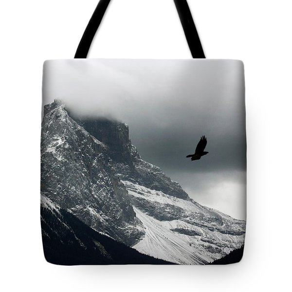 The Clouds Roll Off The Top Tote Bag