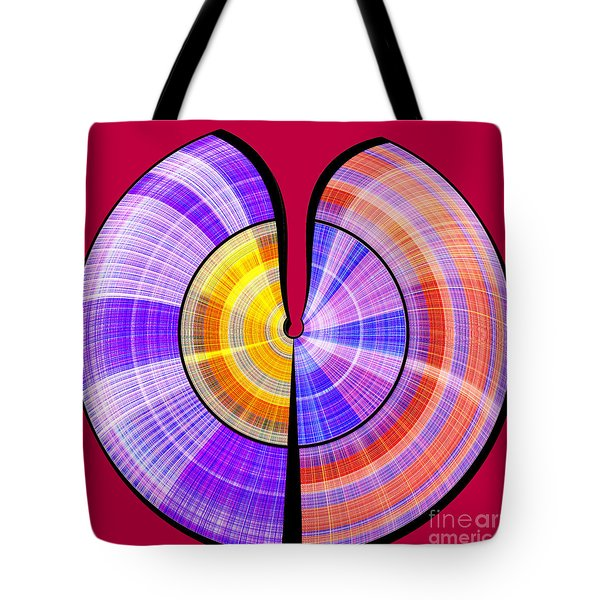 1330 Abstract Thought Tote Bag
