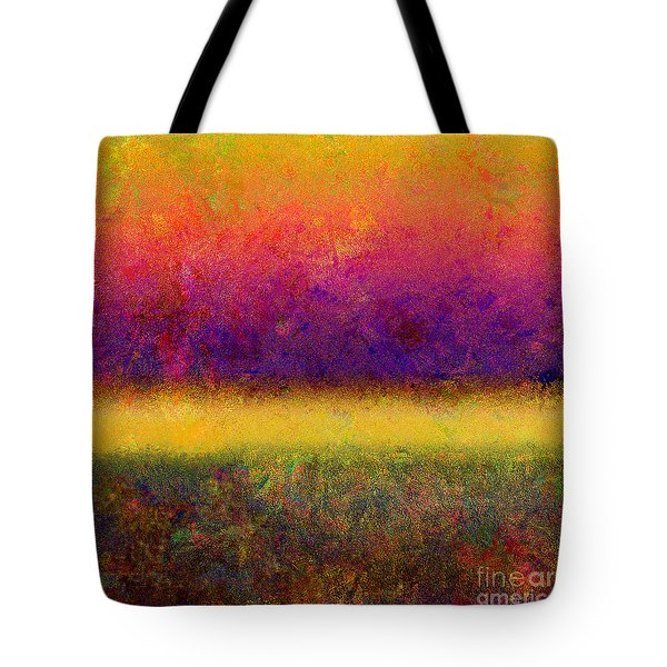 1395 Abstract Thought Tote Bag