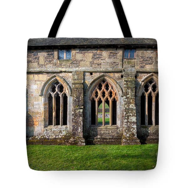 13th Century Abbey Tote Bag by Adrian Evans