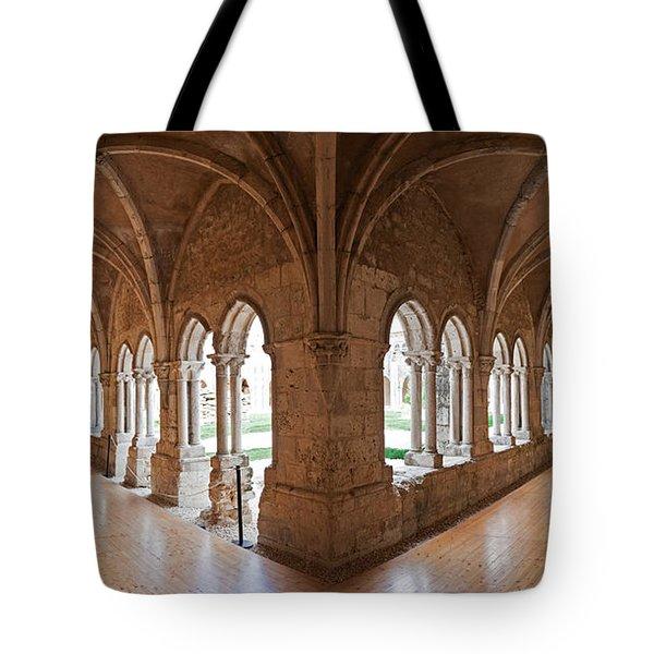 13th Century Gothic Cloister Tote Bag by Jose Elias - Sofia Pereira