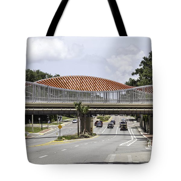 13th Street Rails To Trails Trestle Tote Bag