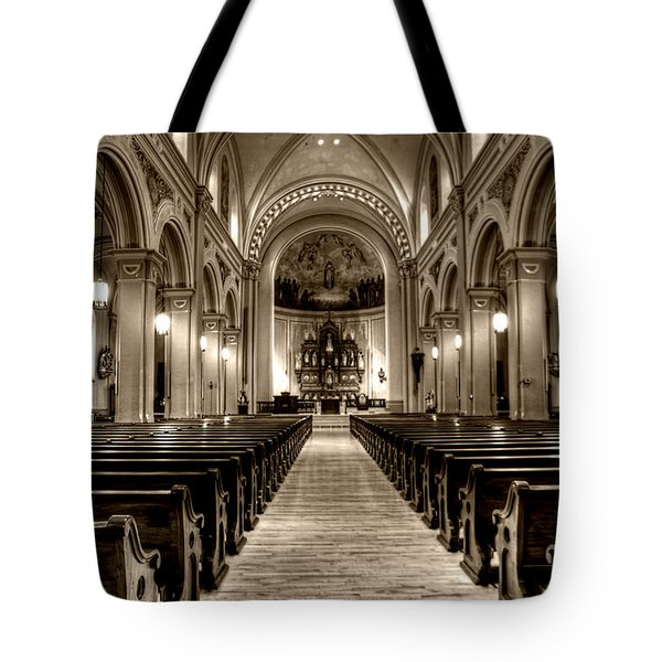 Church Of The Assumption Tote Bag