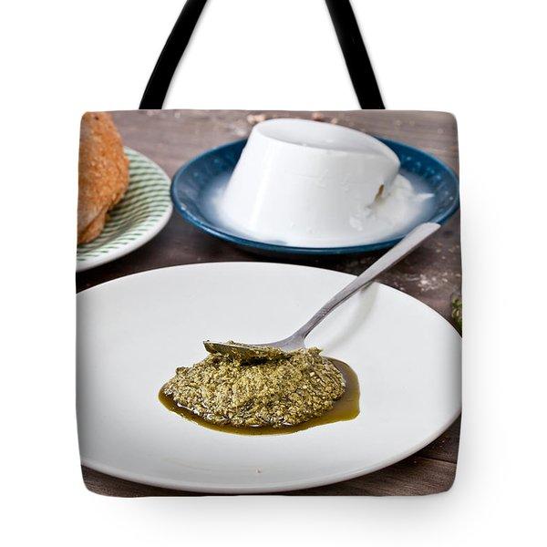 Ingredients Tote Bag