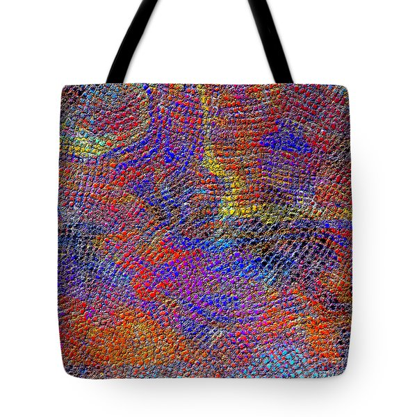 1429 Abstract Thought Tote Bag by Chowdary V Arikatla
