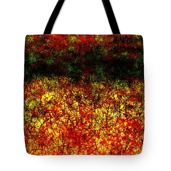 1437 Abstract Thought Tote Bag by Chowdary V Arikatla