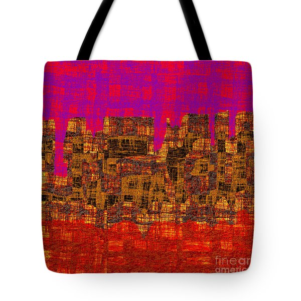 1457 Abstract Thought Tote Bag by Chowdary V Arikatla