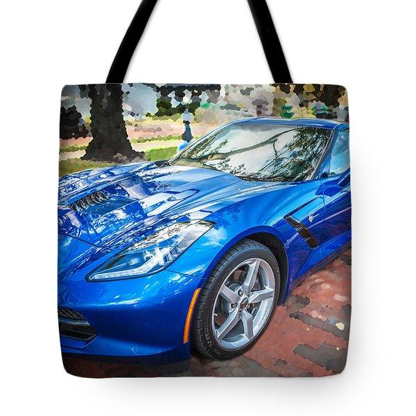 2014 Chevrolet Corvette C7 Tote Bag by Rich Franco