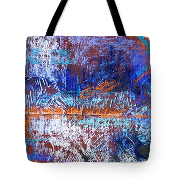 Under Construction Tote Bag by Tracy L Teeter