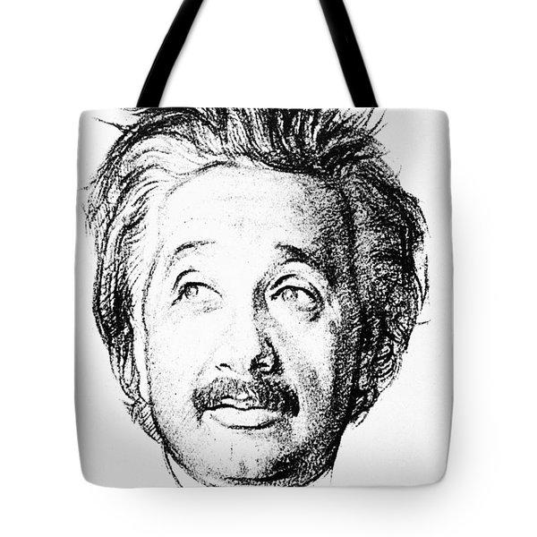 Albert Einstein (1879-1955) Tote Bag