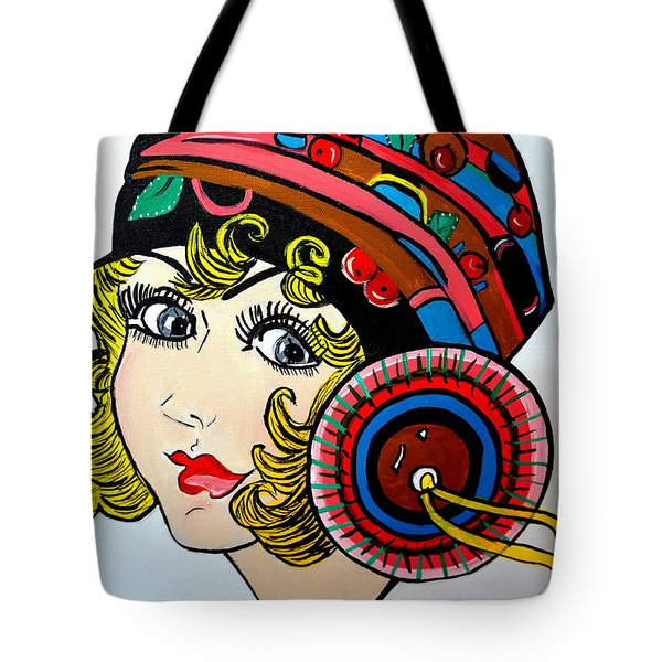 Art Deco  Ann Tote Bag