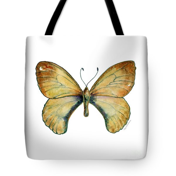 15 Clouded Apollo Butterfly Tote Bag