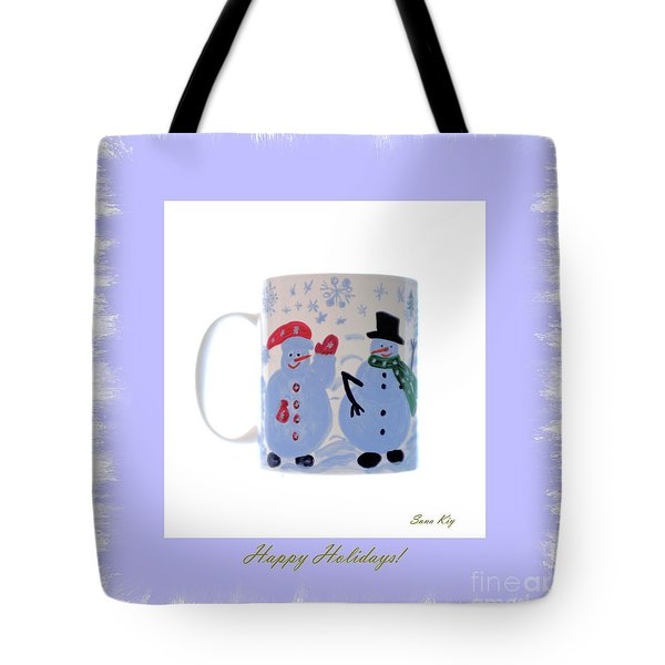 Happy Holidays. Tote Bag