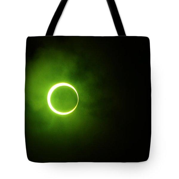 15 January 2010 Solar Eclipse Maldives Tote Bag