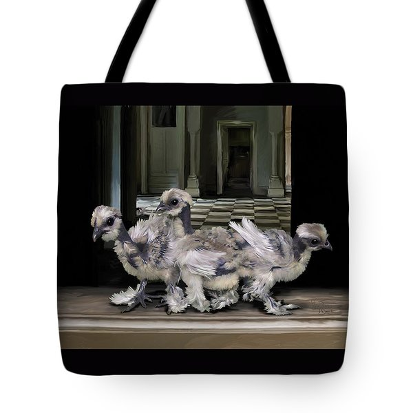 15. Lizard Chicks Tote Bag