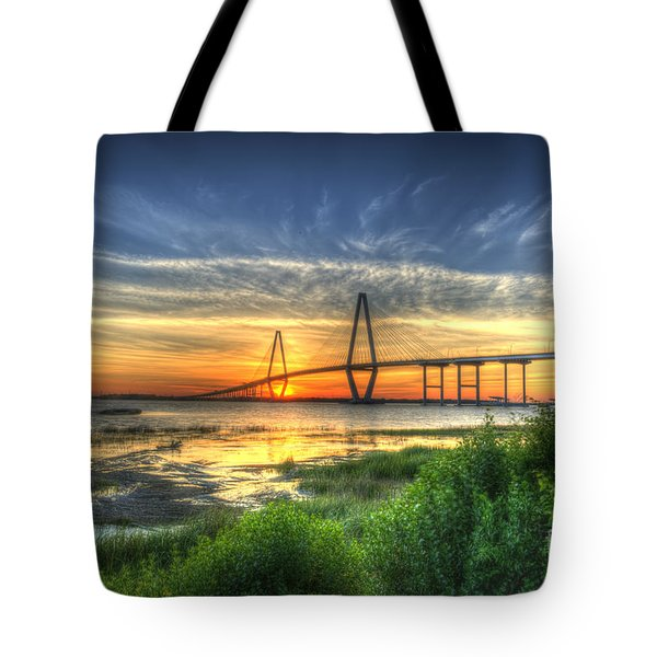 Lowcountry Sunset Tote Bag