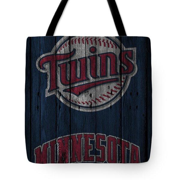 Minnesota Twins Tote Bag