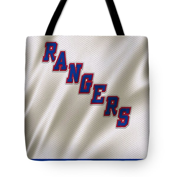 New York Rangers Tote Bag