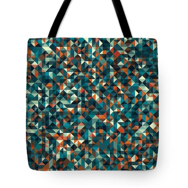 Retro Pixel Art Tote Bag