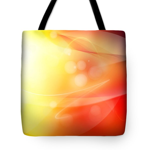 Abstract Background. Tote Bag by Les Cunliffe