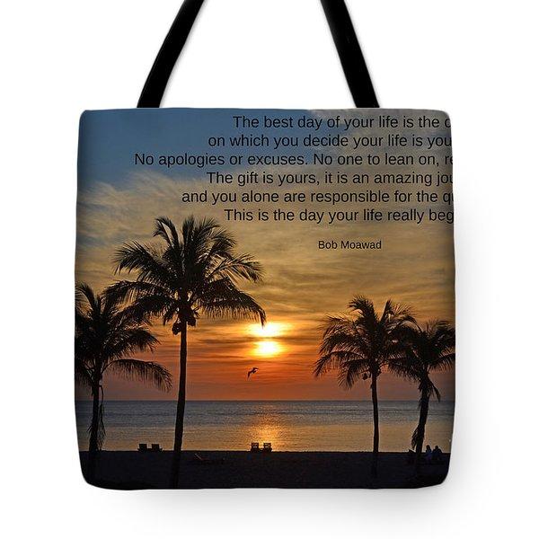 154- Bob Moawad Tote Bag