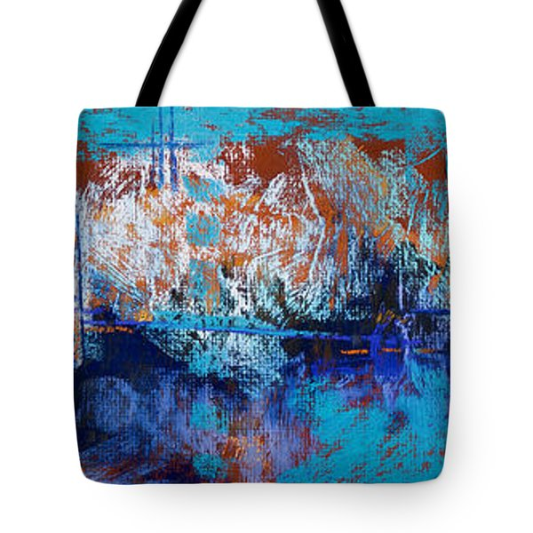 Bridges To Nowhere Tote Bag by Tracy L Teeter