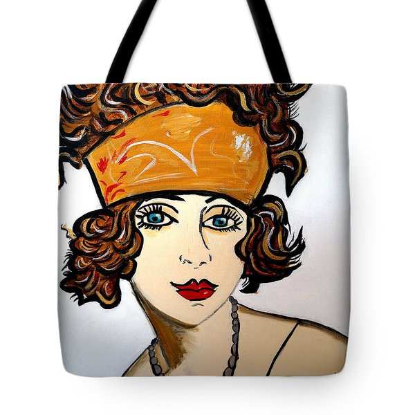 Art Deco  Hilda Tote Bag