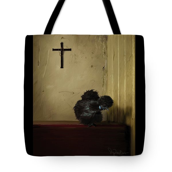 16. Black Silkie Tote Bag
