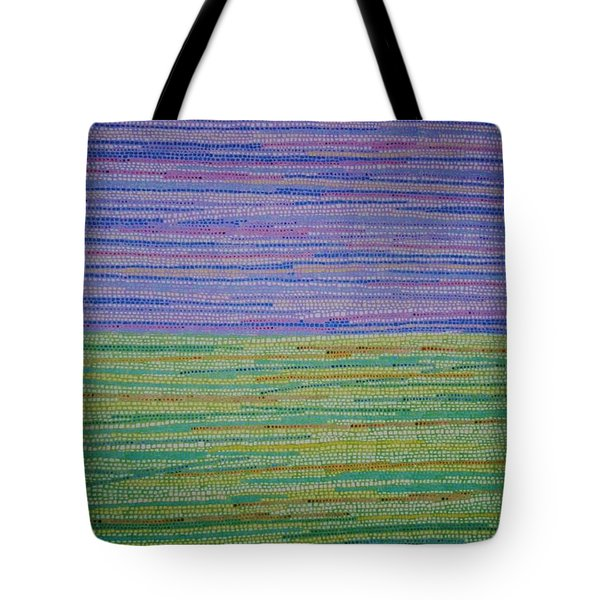Tote Bag featuring the painting Identity by Kyung Hee Hogg