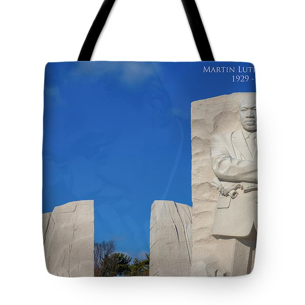 Tote Bag featuring the photograph Martin Luther King Jr Memorial by Theodore Jones