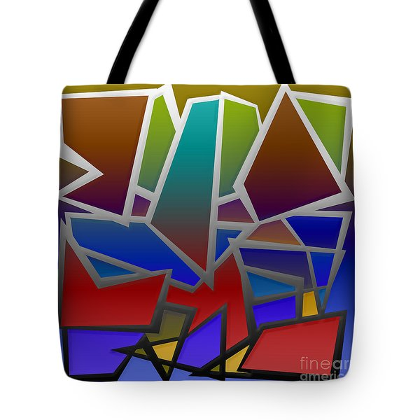 1624 Abstract Thought Tote Bag