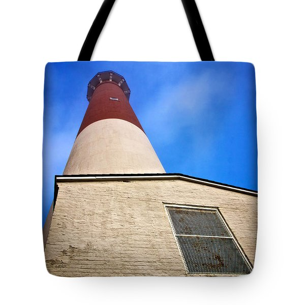 163 Feet Into The Clouds - Color Version Tote Bag