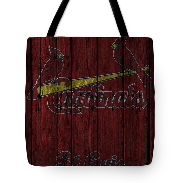 St Louis Cardinals Tote Bag