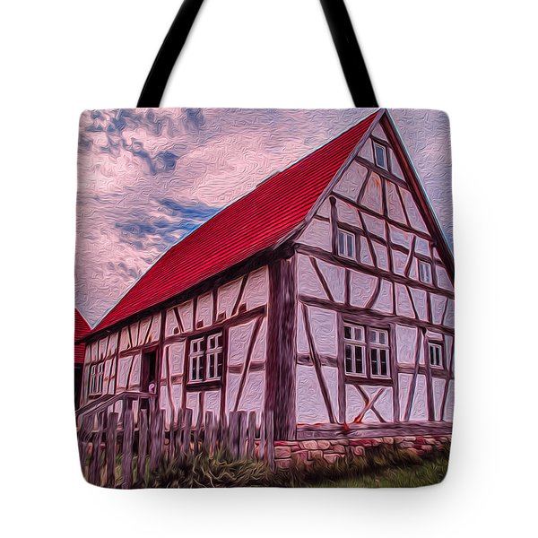 1700s German Farm Tote Bag