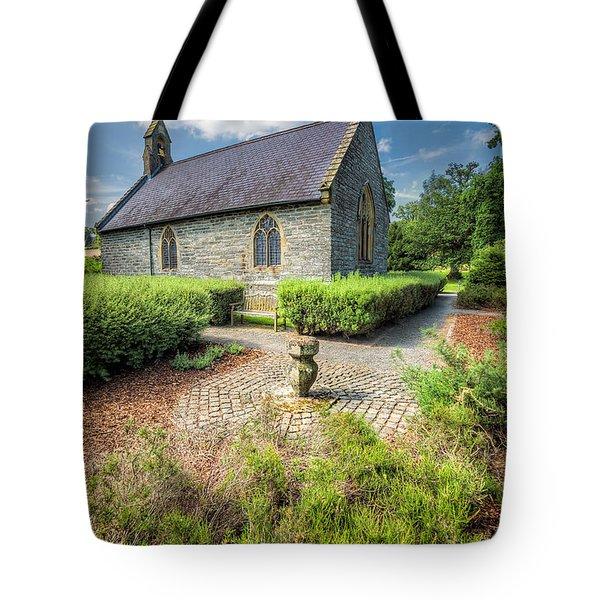 17th Century Church Tote Bag by Adrian Evans
